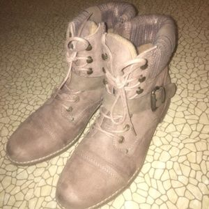 Size 9 Limelight Nude Boots